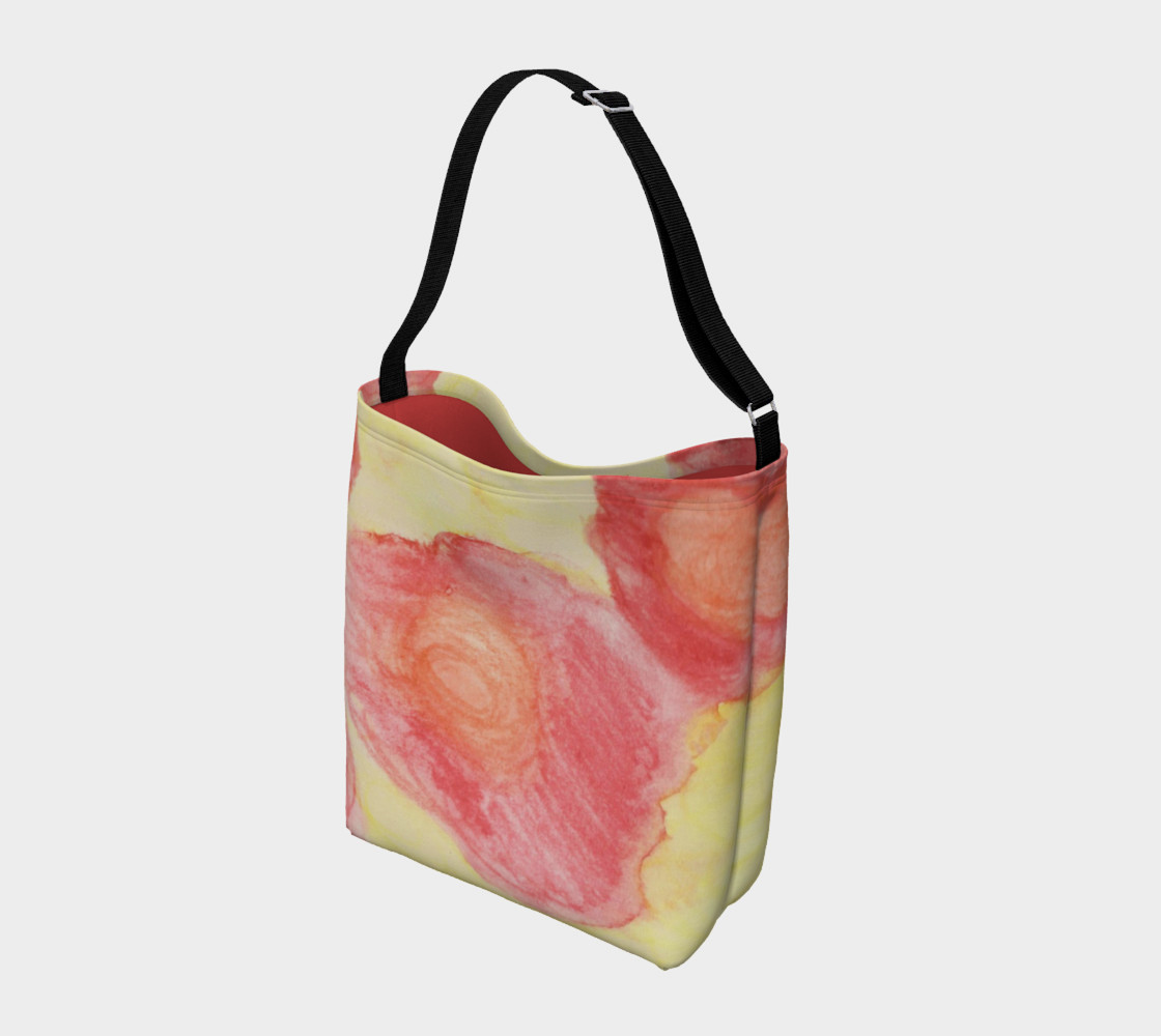 Red Flower Blooms Day Tote preview #2
