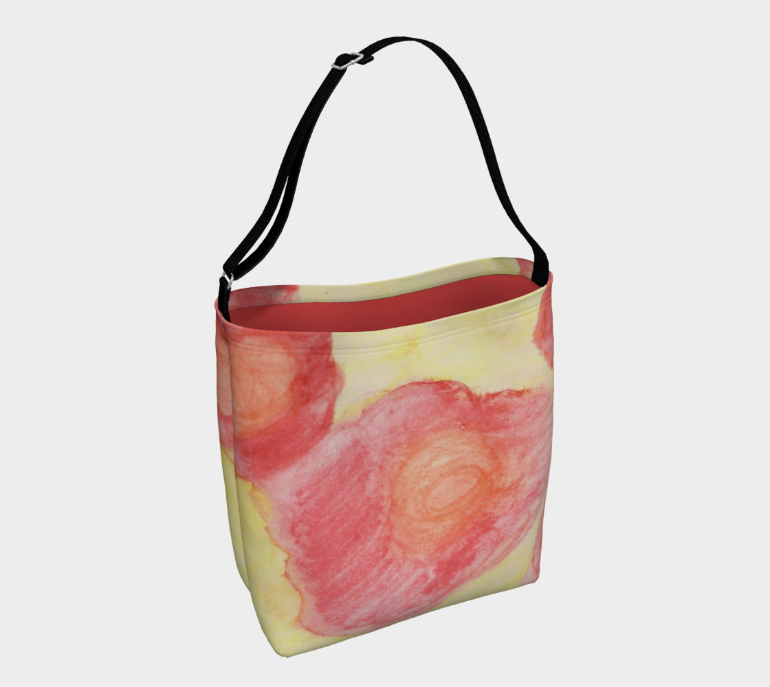 Red Flower Blooms Day Tote preview #1