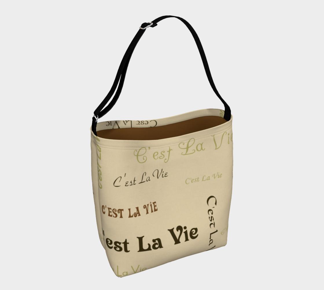Aperçu de Coffee C'est la Vie Day Tote #1