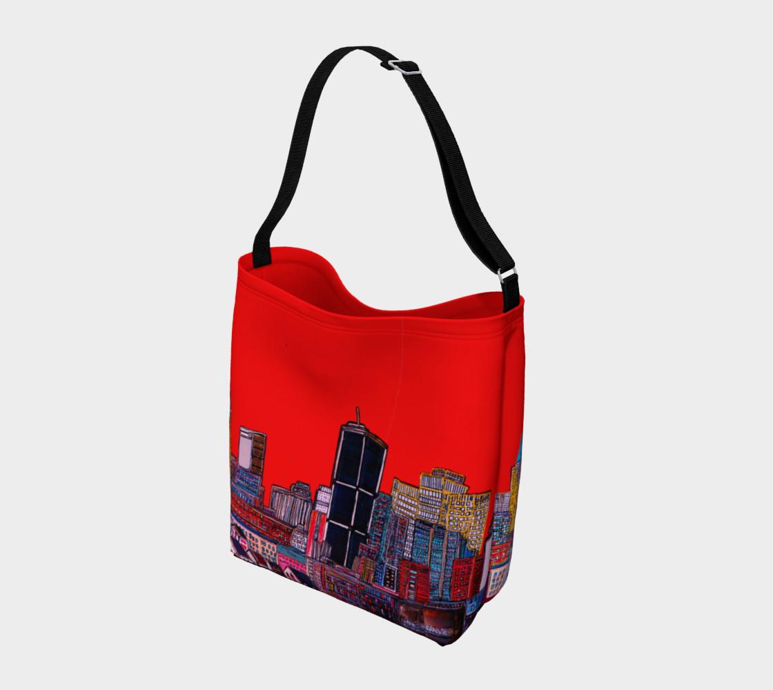 Aperçu de SAC - BAG ROUGE -ALL RED - MTL MONTRÉAL - CITY #2