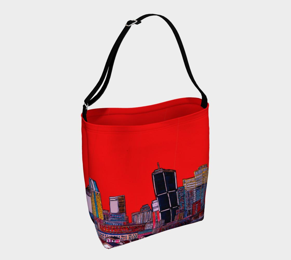 Aperçu de SAC - BAG ROUGE -ALL RED - MTL MONTRÉAL - CITY #1