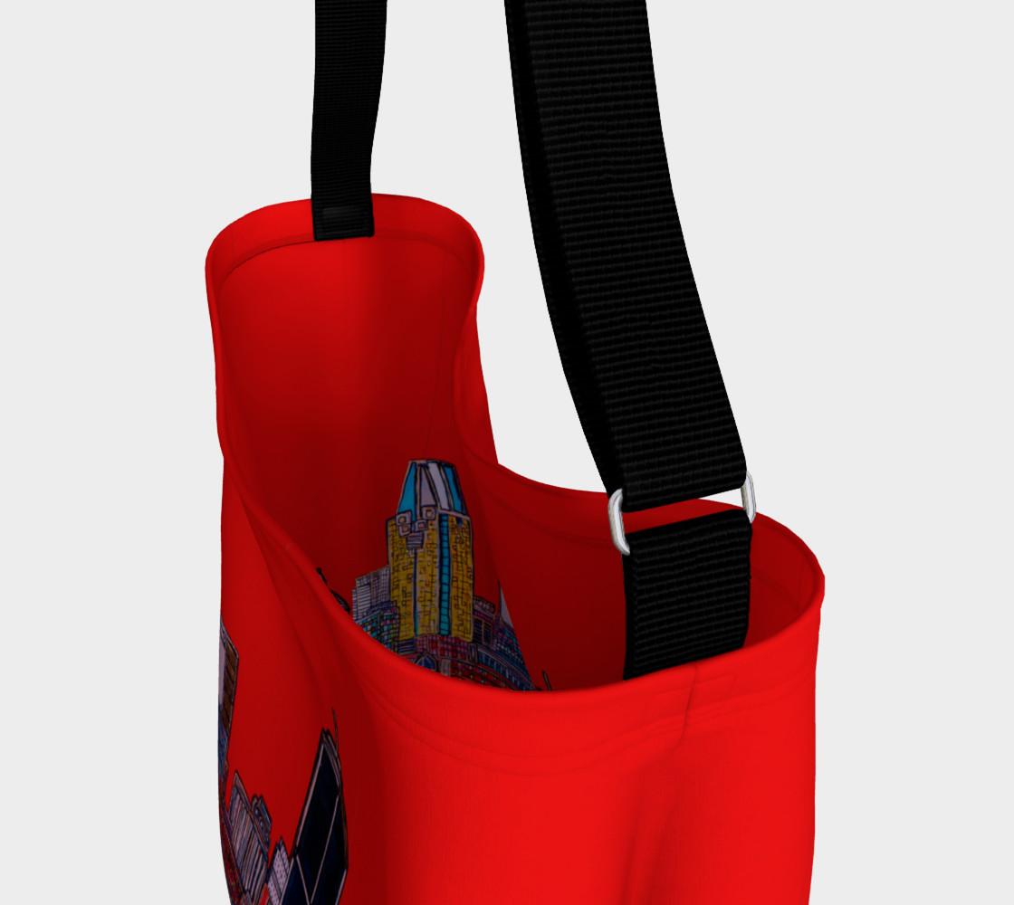 Aperçu de SAC - BAG ROUGE -ALL RED - MTL MONTRÉAL - CITY #3