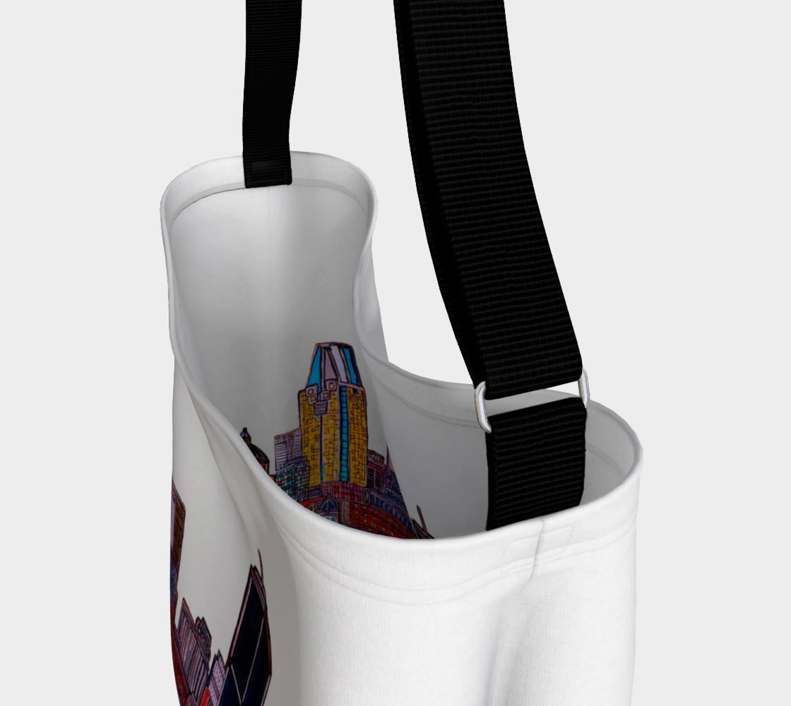 SAC - BAG Blanc MTL ArtPrint Melanie Bernard Art preview #3