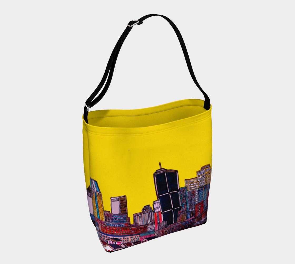Aperçu de Montréal Yellow Bag - Sac Jaune Mtl avec rue interieur  #1