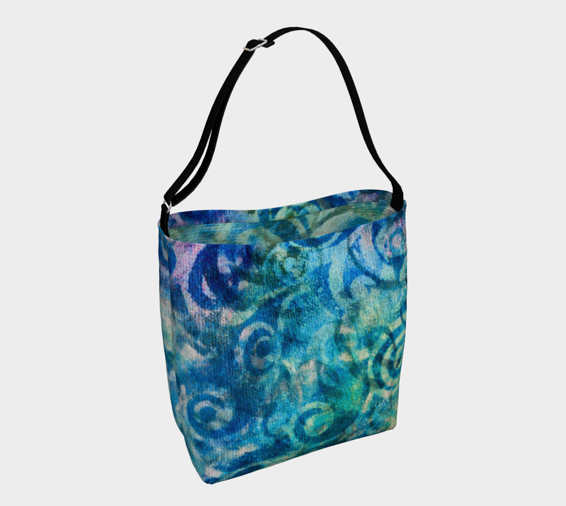 Blue Swirl 2 Tote preview #1