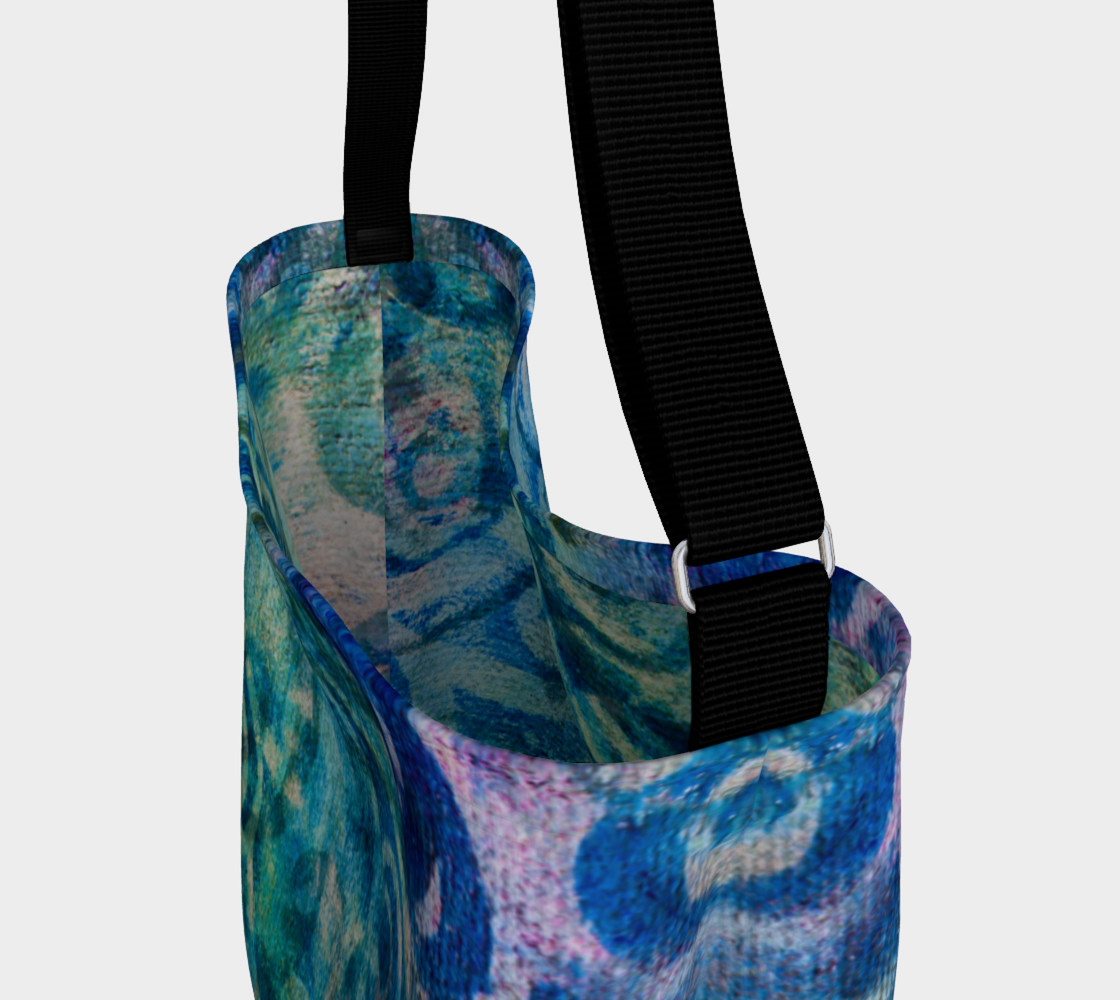 Blue Swirl 2 Tote preview #3