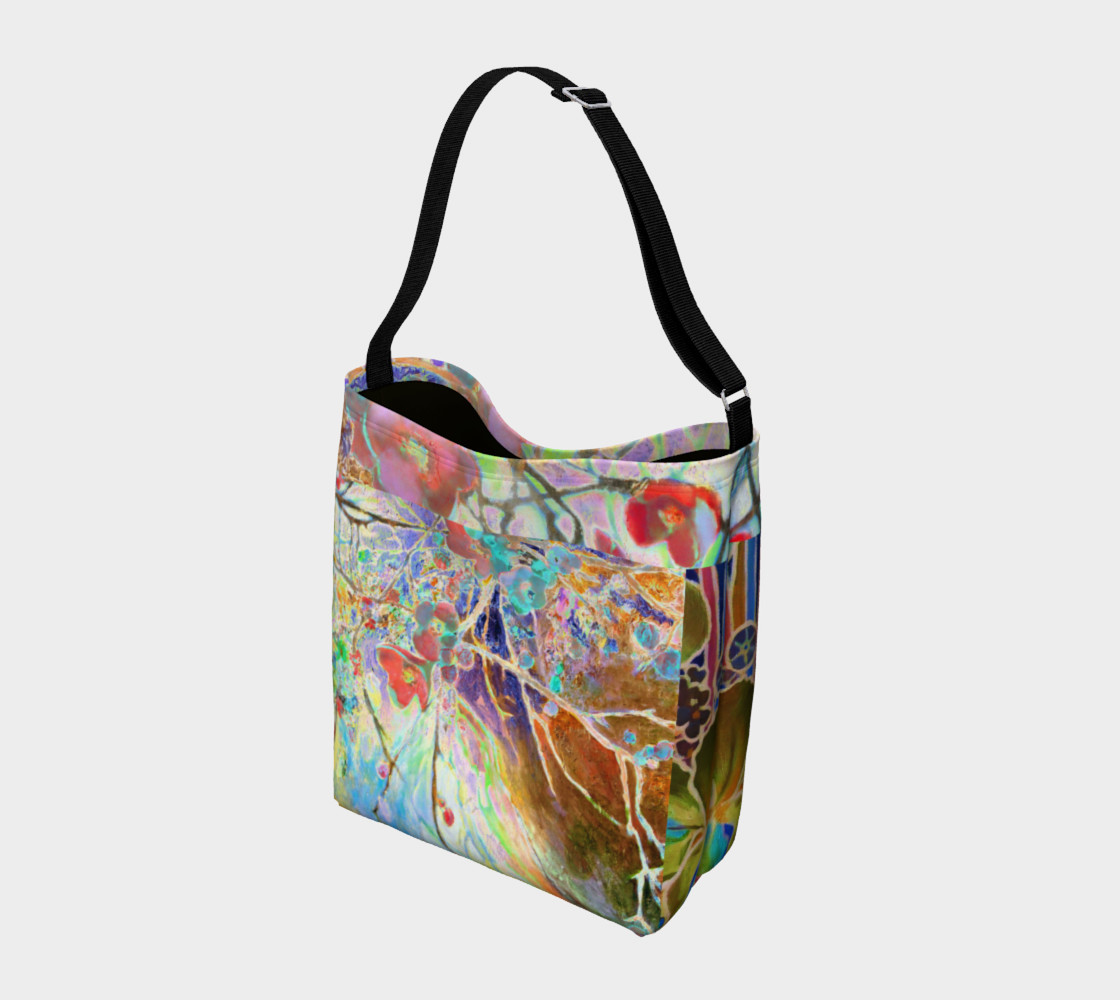 Pastel Floral Branch Day Tote  preview #2