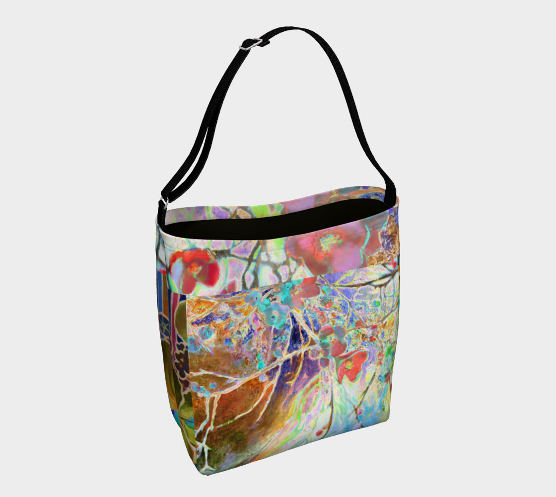 Pastel Floral Branch Day Tote  preview #1