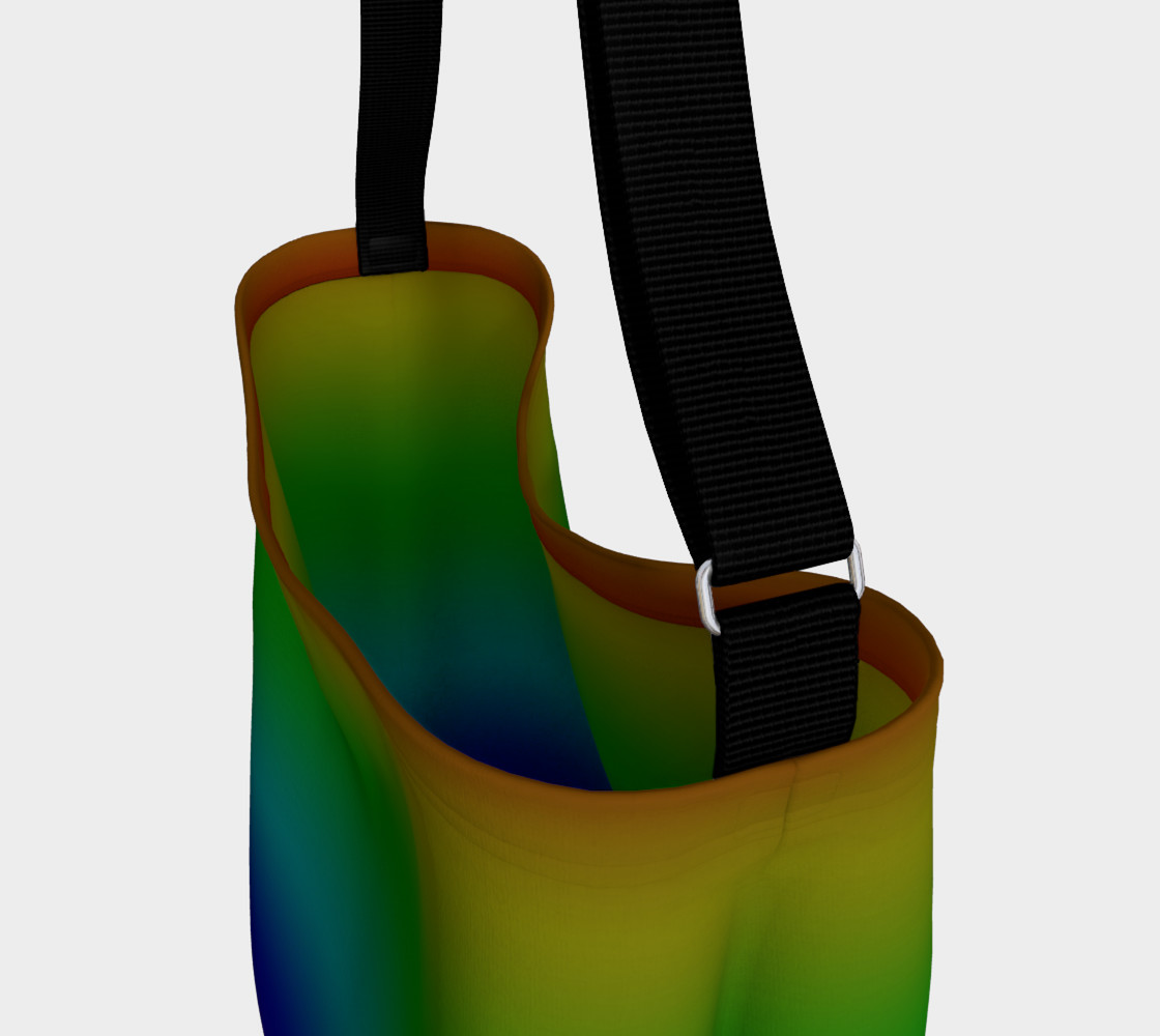 Dark Rainbow Ombre Day Tote preview #3