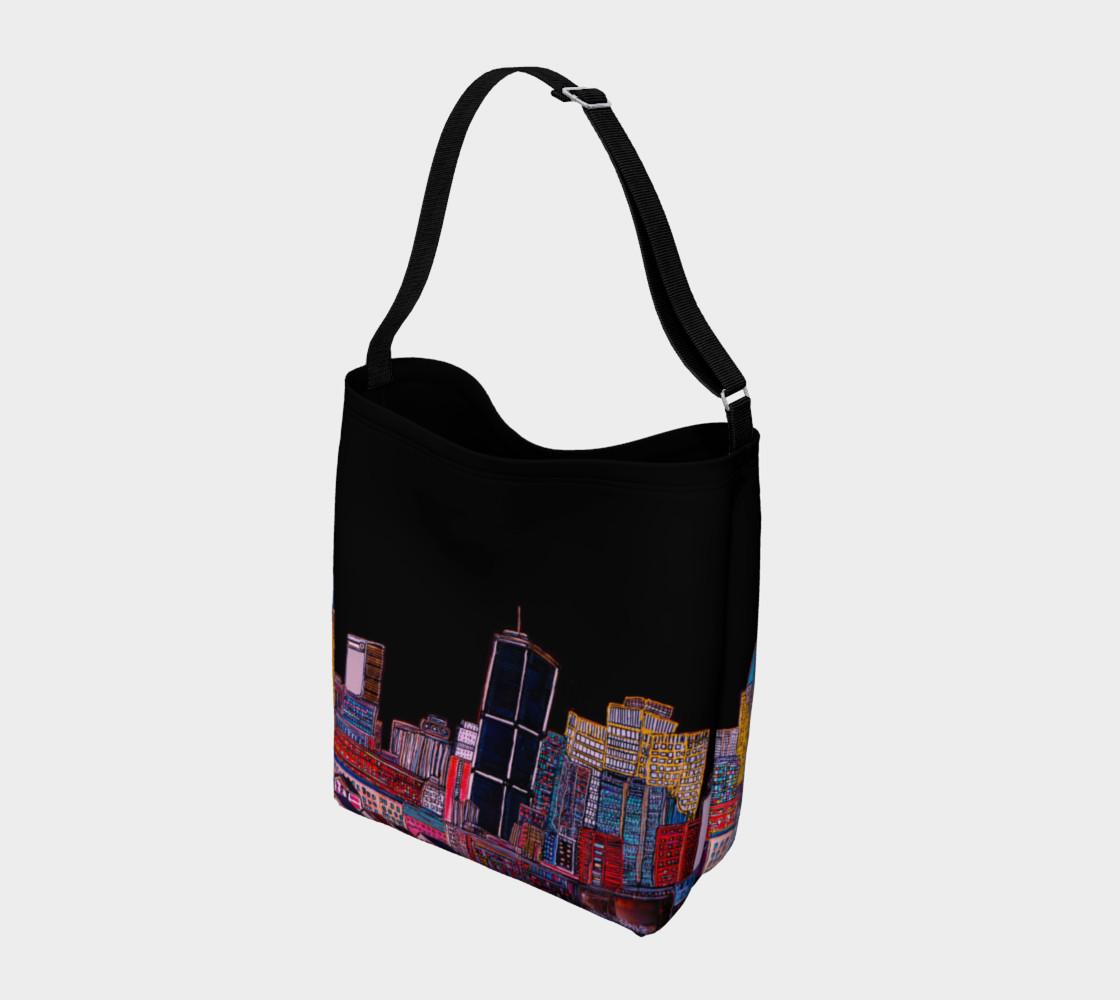 Sac Tout Noir - Bag All Black MTL  Montréal Tote preview #2