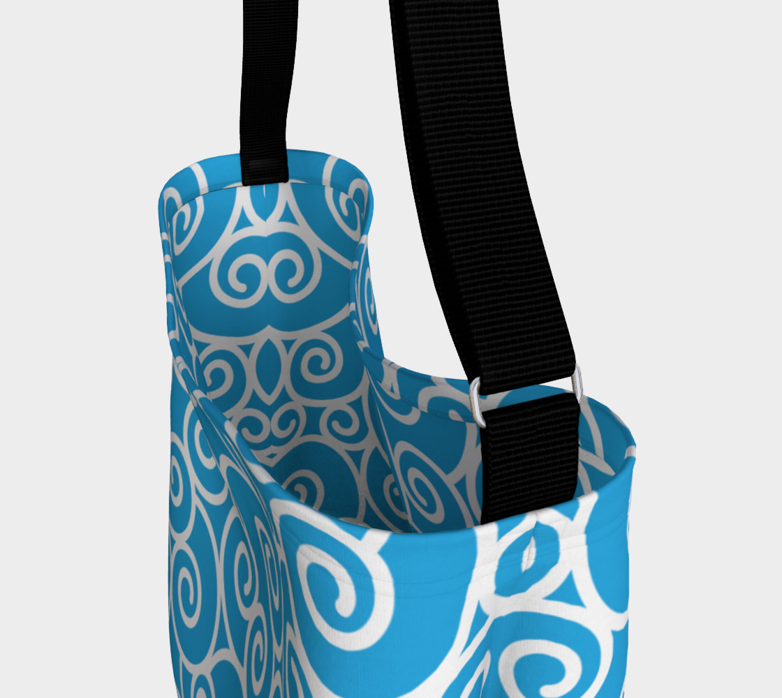 Aqua Blue Swirls preview #3