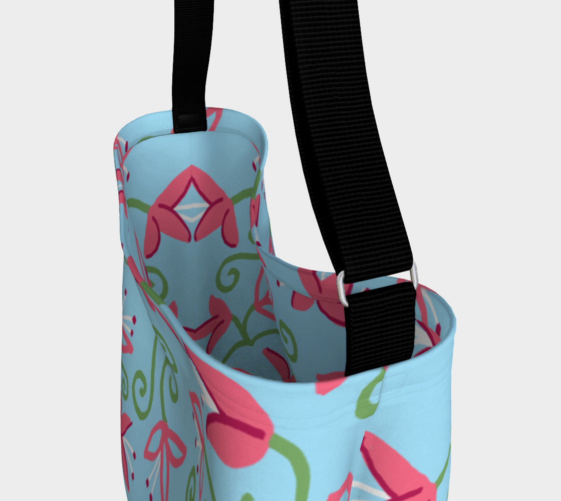 Pink Bloom Tote preview #3
