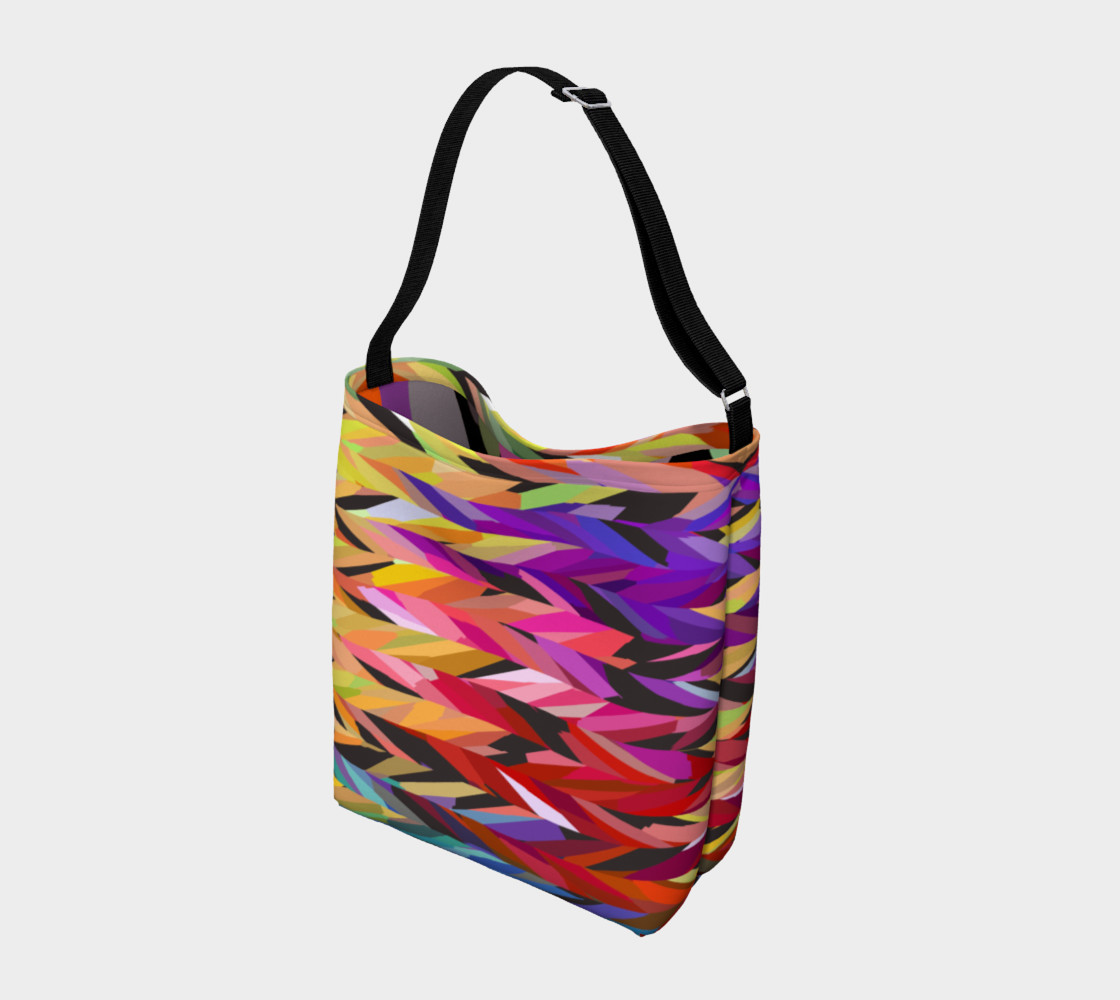 Burst of Color Tote Bag preview #2