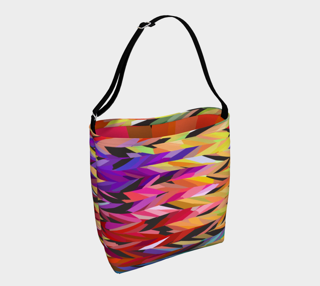 Burst of Color Tote Bag preview #1