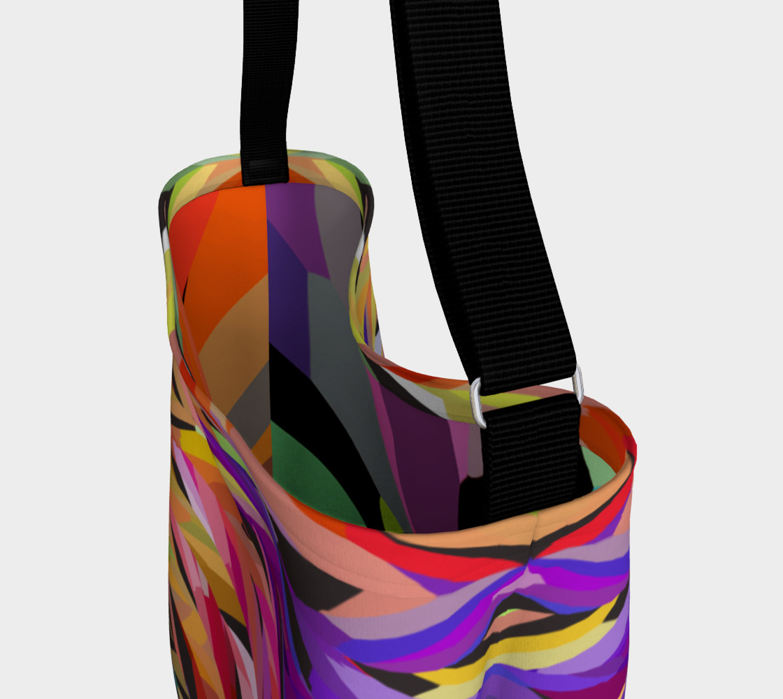 Burst of Color Tote Bag preview #3