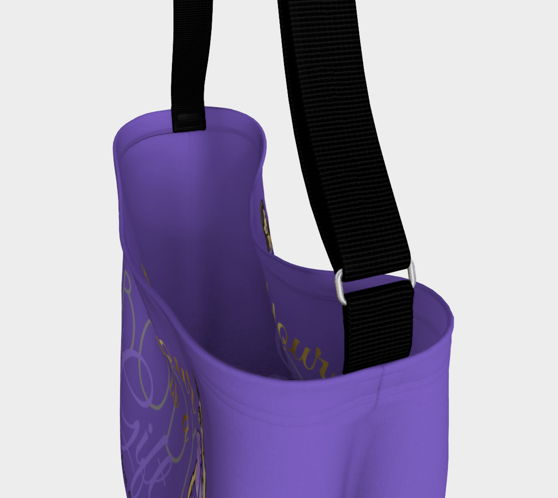 Body is a Gift (Purple Tote) Miniature #4