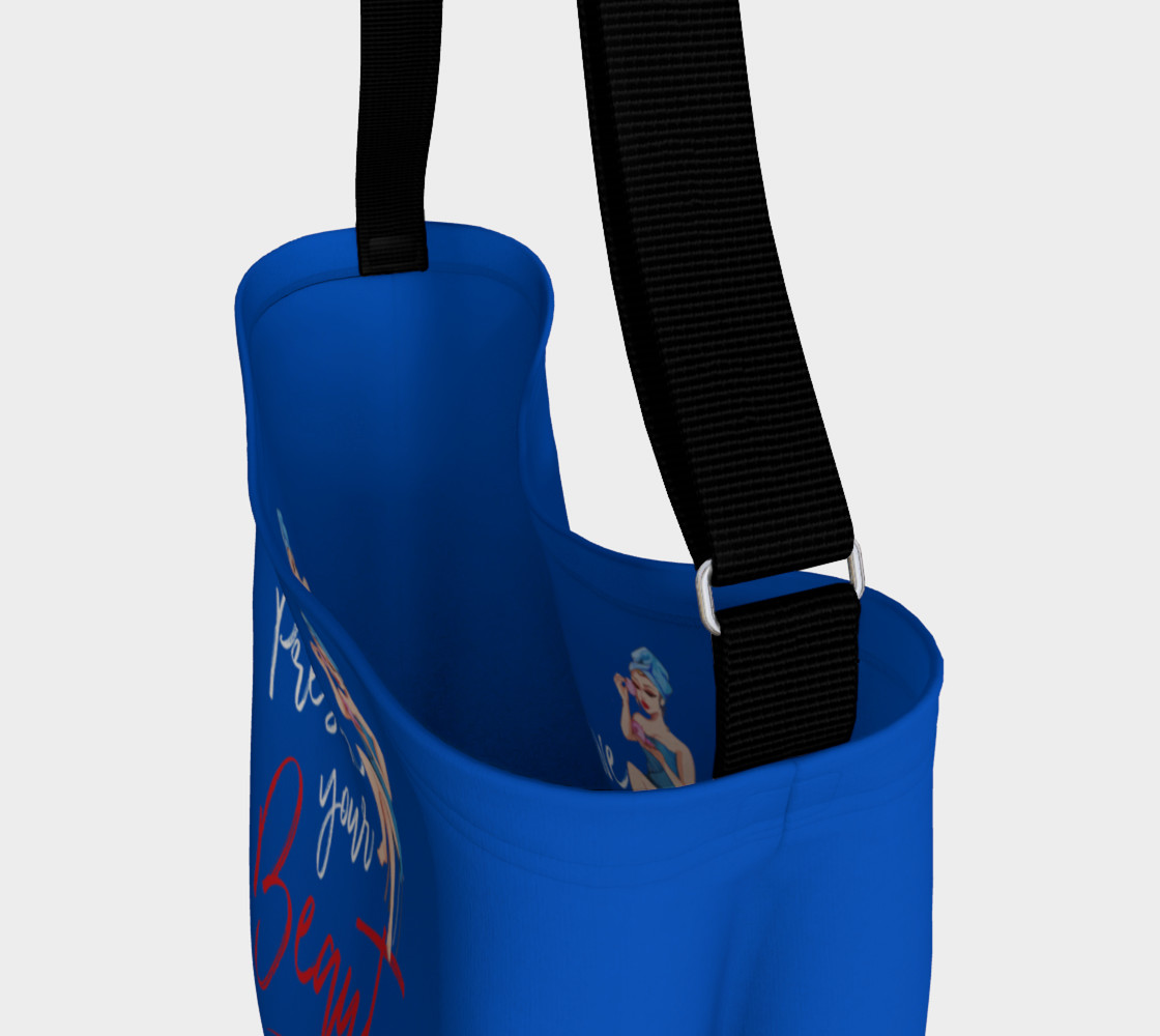 Preserve Your Beauty (Blue Tote Bag) preview #3