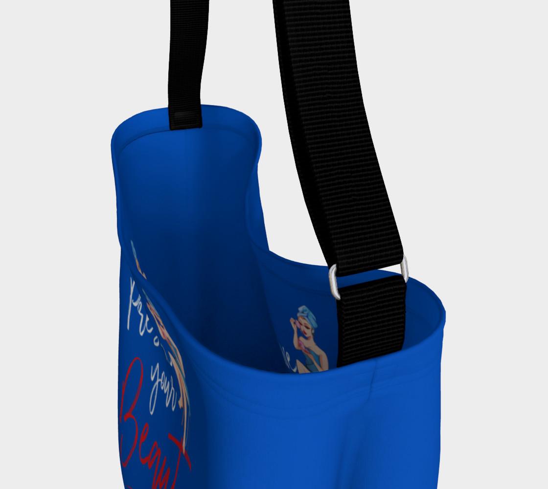 Aperçu de Preserve Your Beauty (Blue Tote Bag) #3