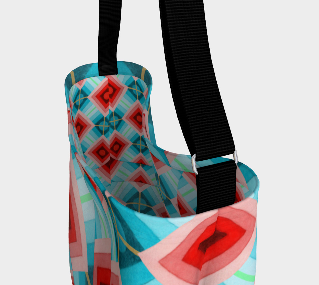 Aperçu de Groovy Argyle Tote Bag  #3
