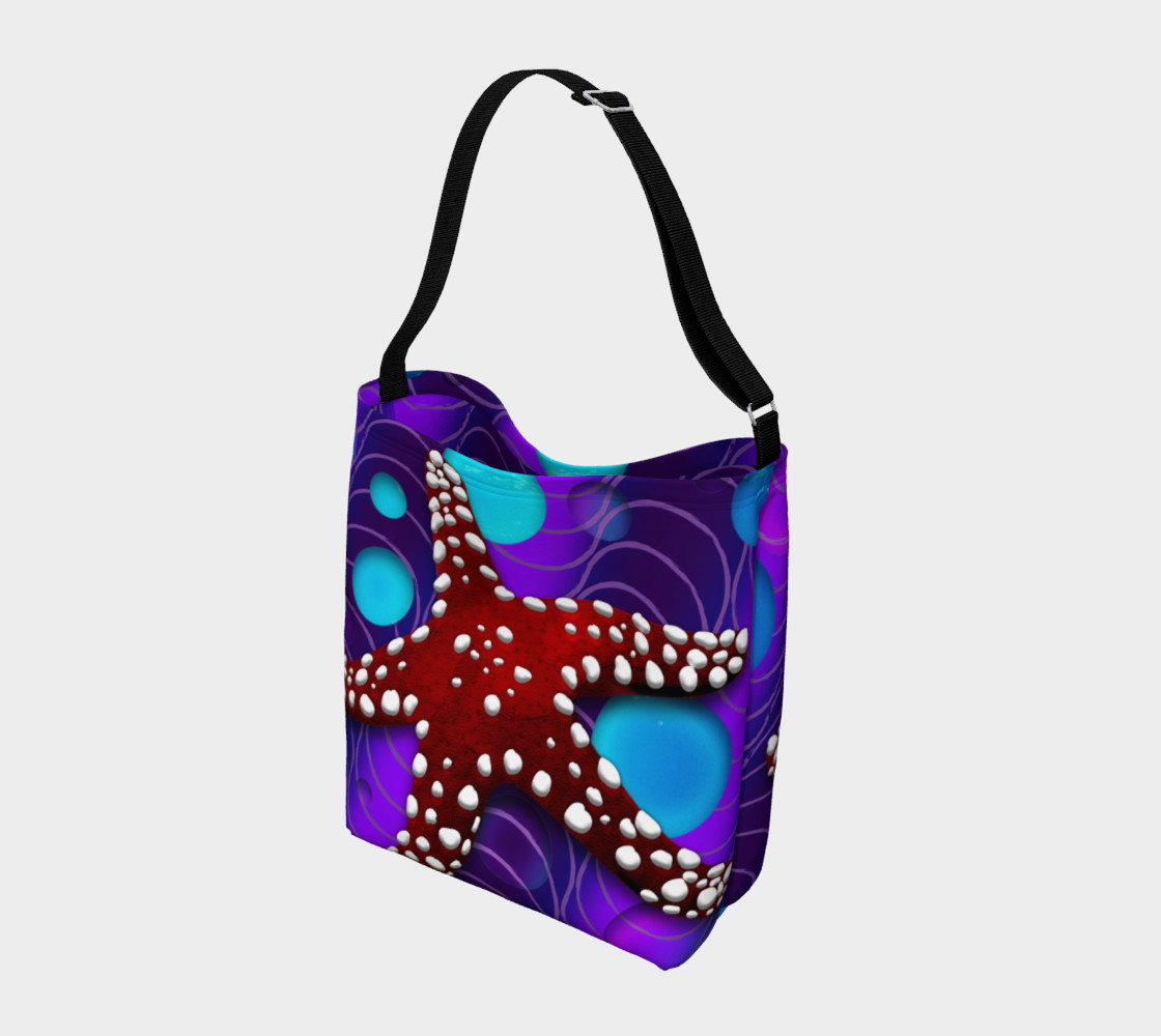 Star Fish Tote Miniature #3