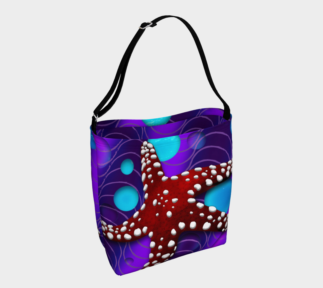 Star Fish Tote Miniature #2