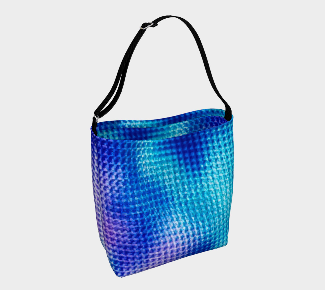 Digital Blur Day Tote preview #1