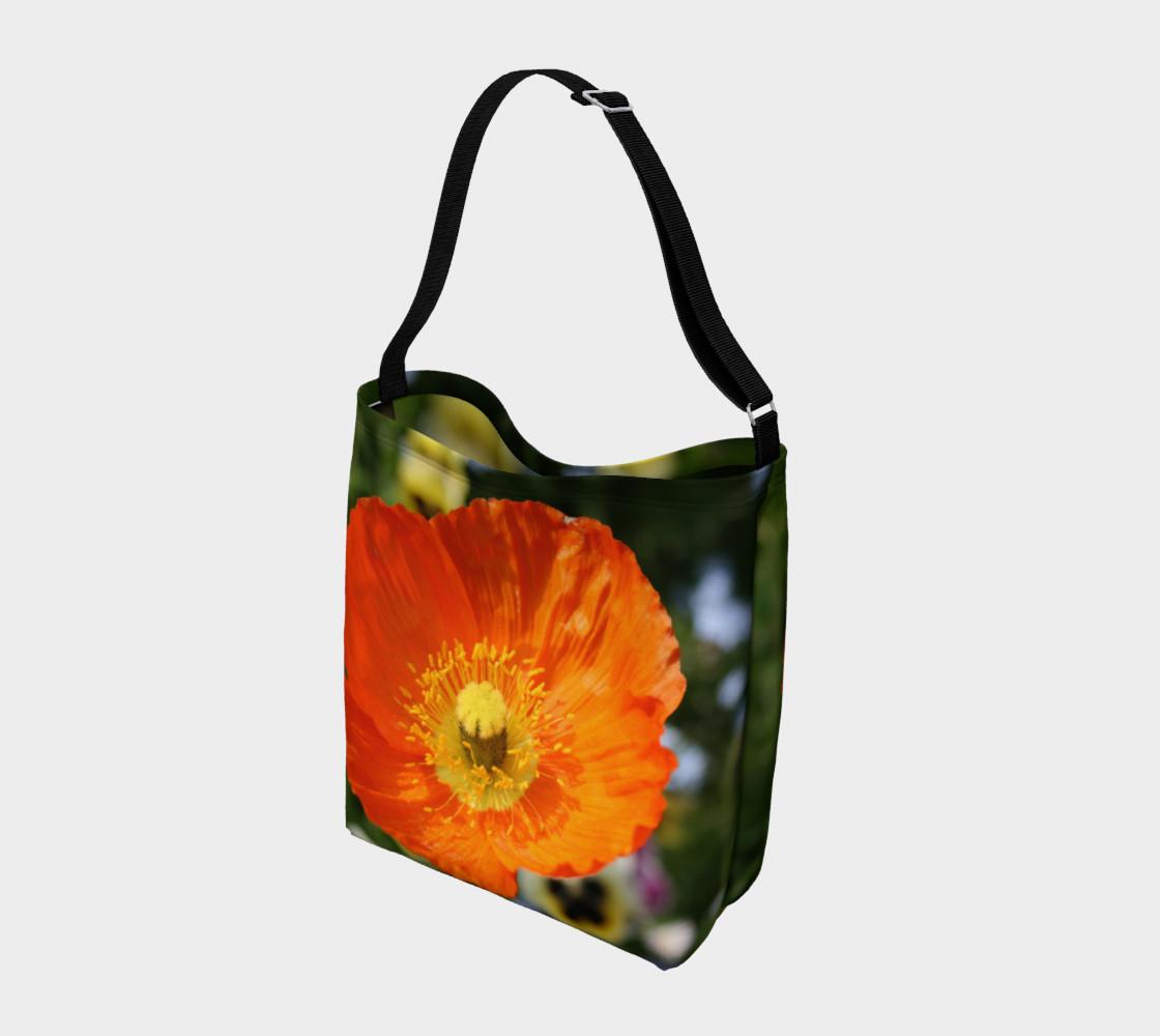 Orange Poppy Shoulder Bag preview #2