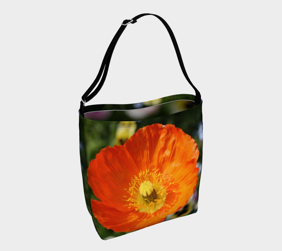 Orange Poppy Shoulder Bag preview #1