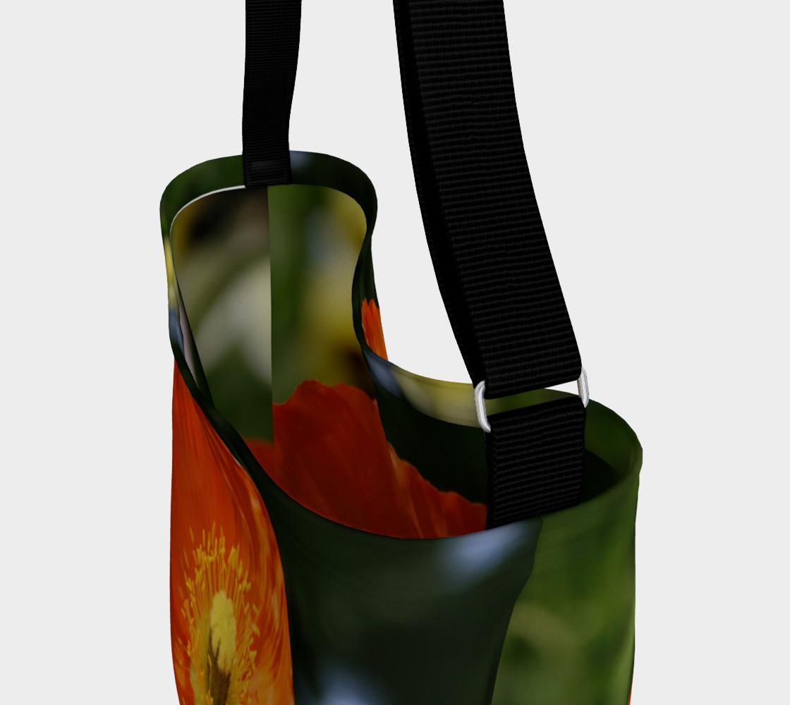 Orange Poppy Shoulder Bag preview #3