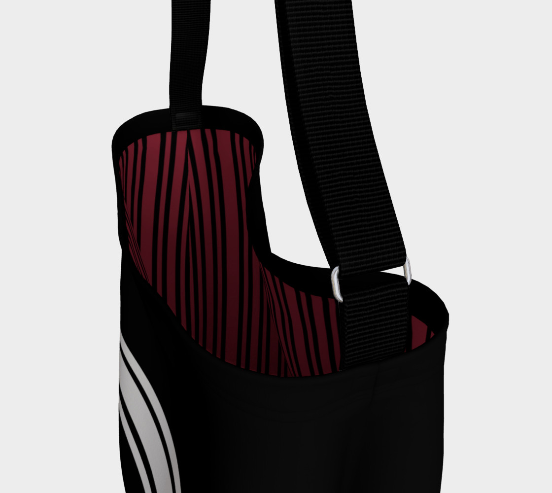 Josephina Sporty Tote (rouge red inside lining) preview #3
