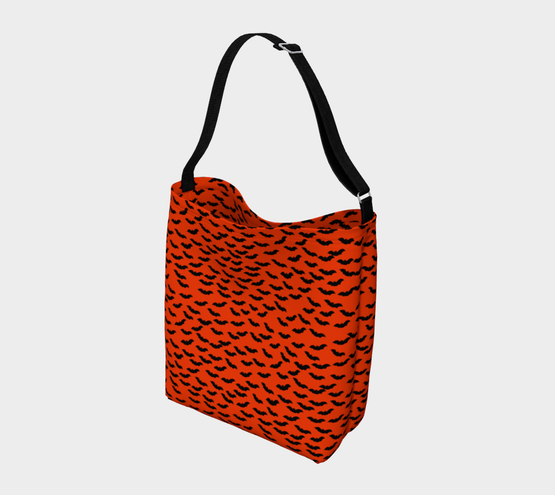 Bats in the Belfry-Orange Tote Bag preview #2
