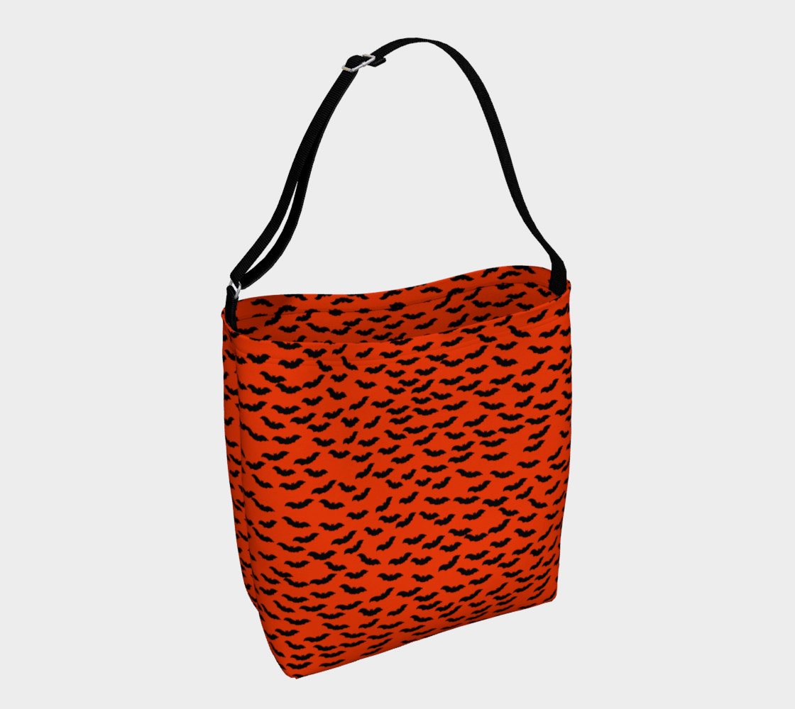 Bats in the Belfry-Orange Tote Bag preview #1