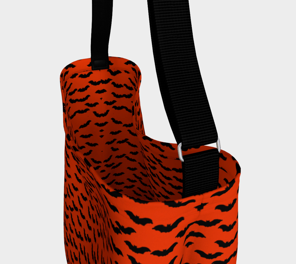 Bats in the Belfry-Orange Tote Bag preview #3