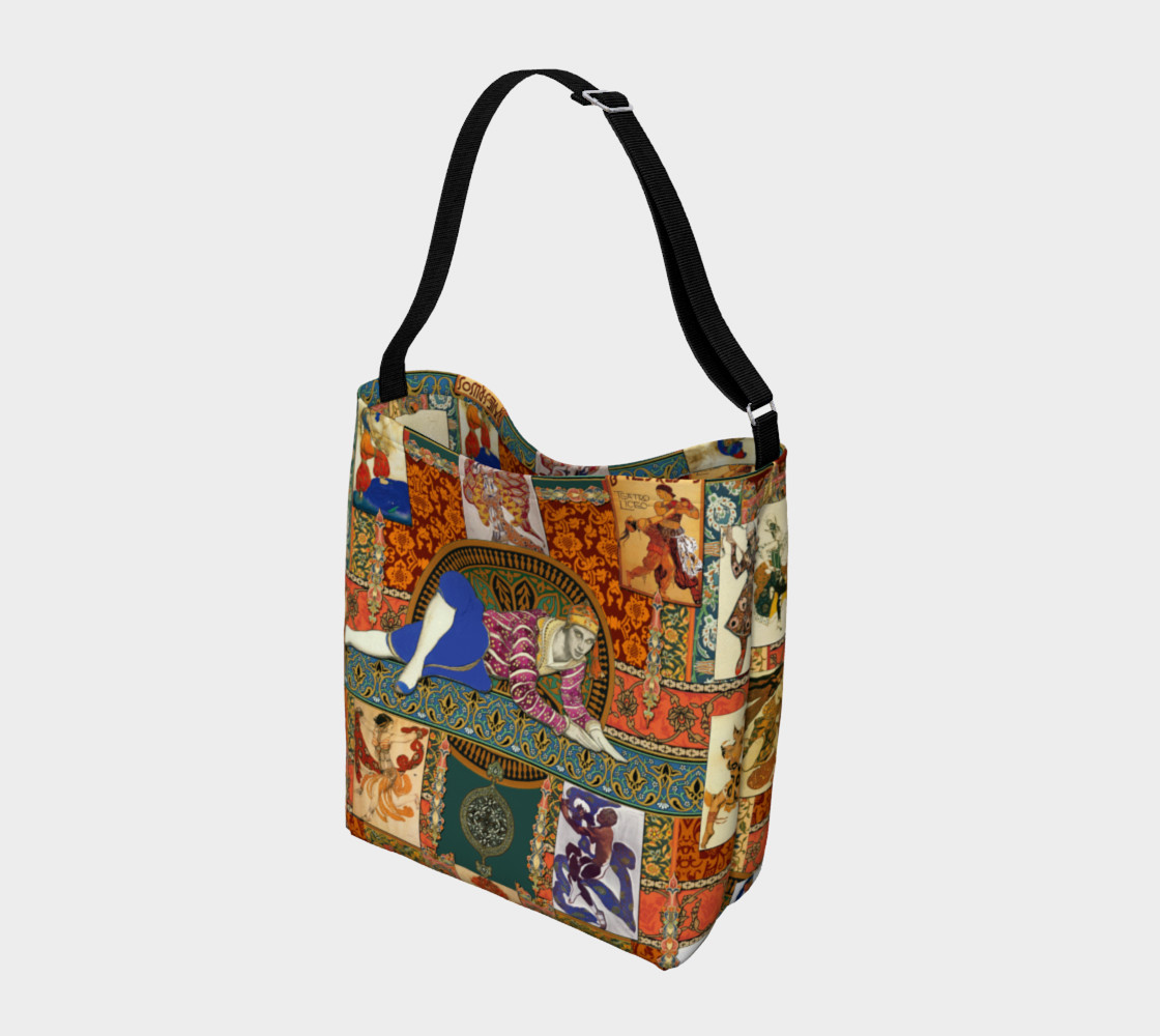 Ballets Russe Tapestry - Day Tote  Miniature #3