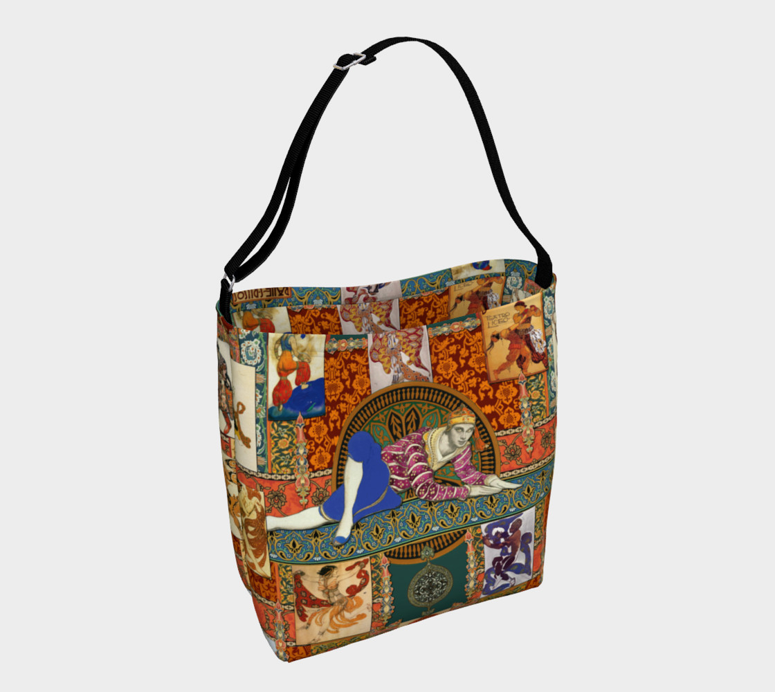 Ballets Russe Tapestry - Day Tote  Miniature #2