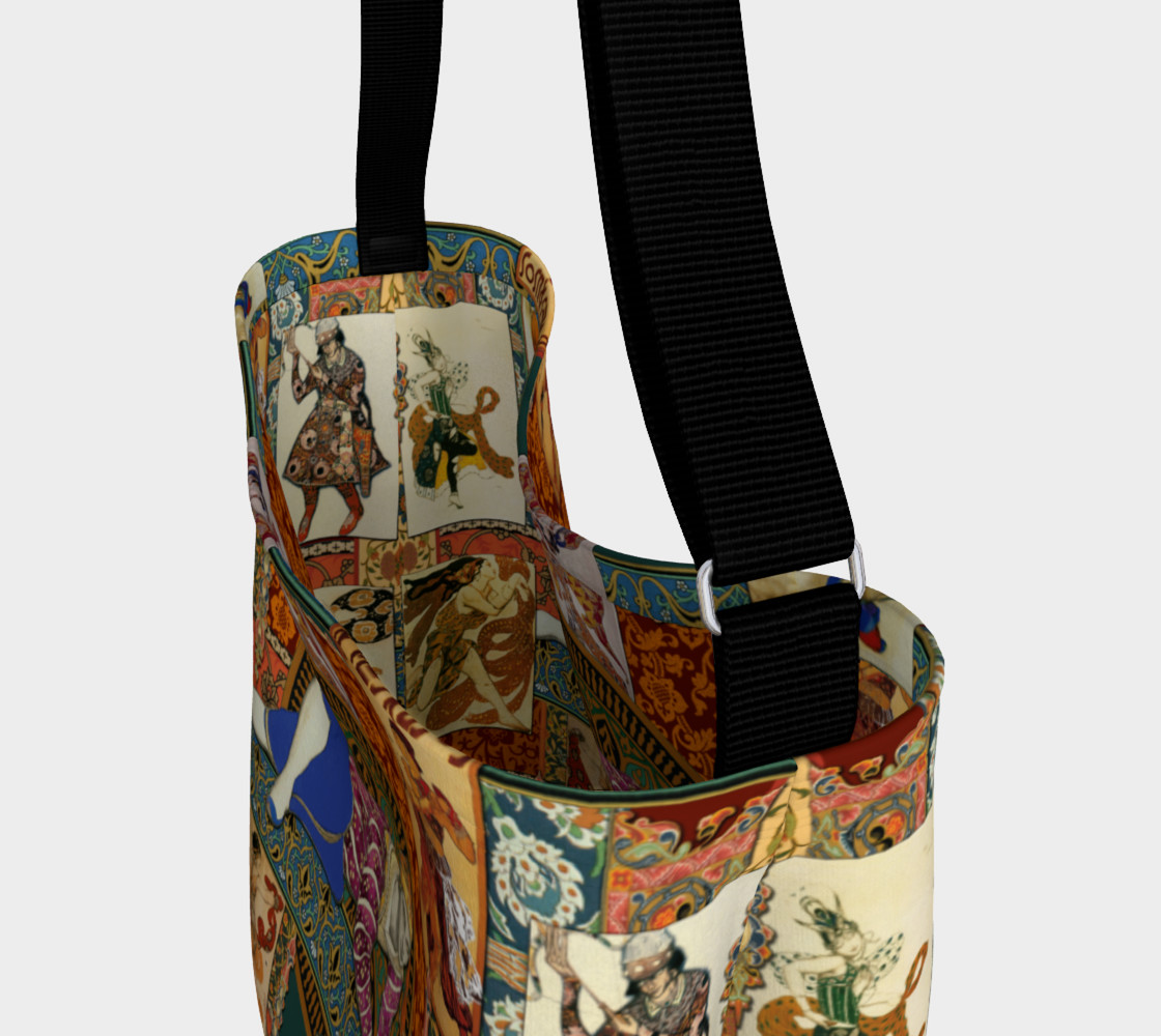 Ballets Russe Tapestry - Day Tote  Miniature #4