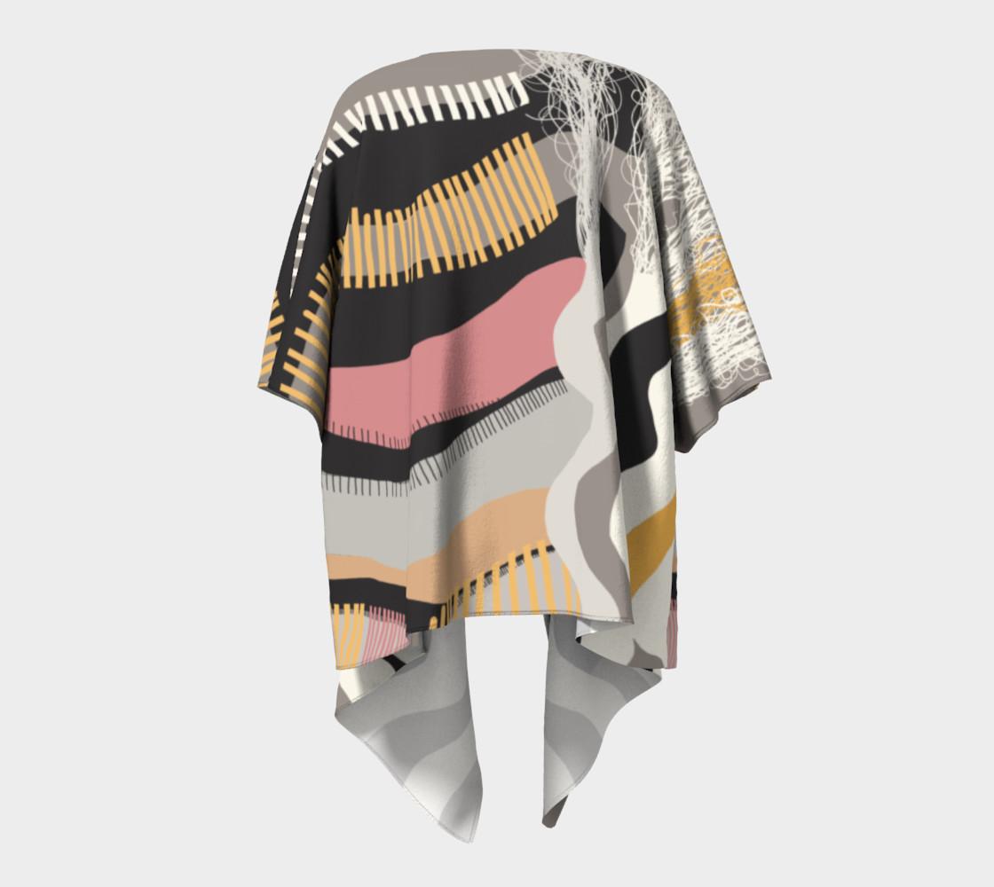 The Real Deal Draped Kimono preview #4