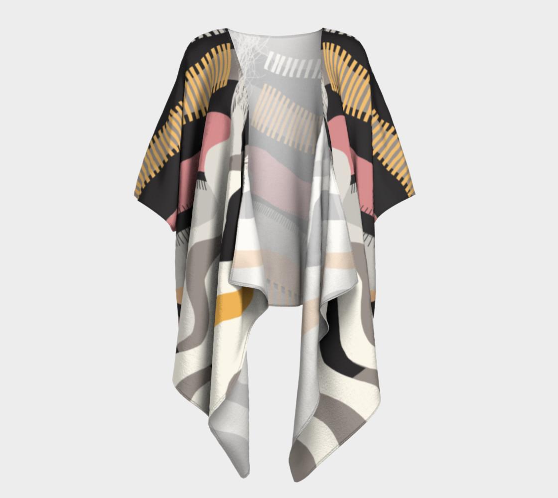 The Real Deal Draped Kimono preview #1