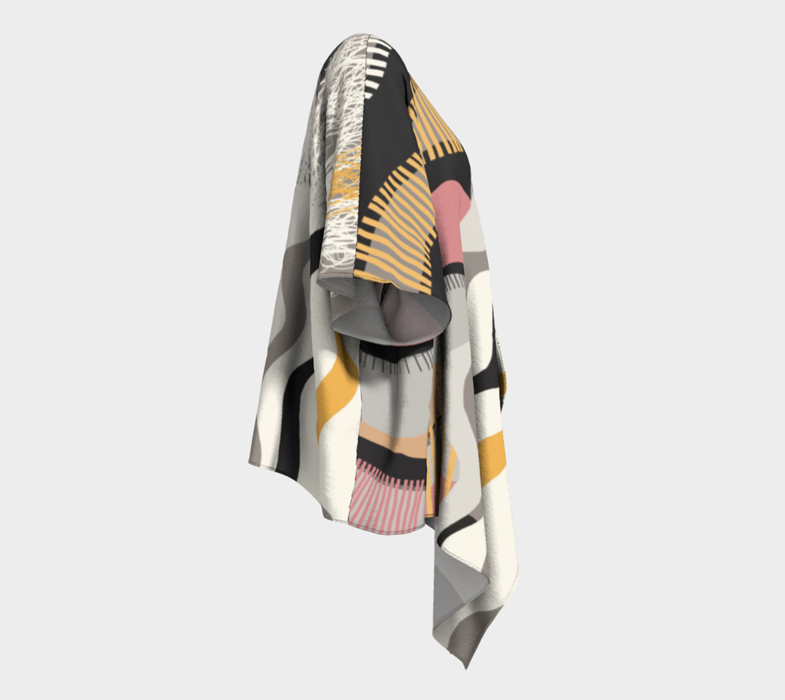 The Real Deal Draped Kimono preview #3