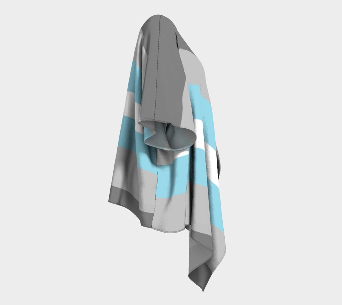Demiboy LGBT Draped Kimono robe preview #3