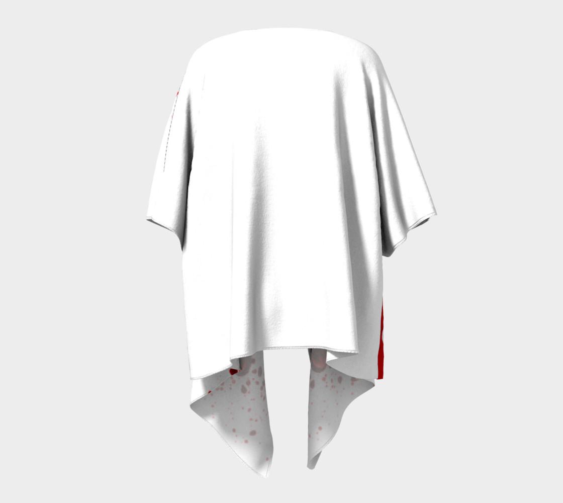 Blood Splatter One Draped Kimono preview #4