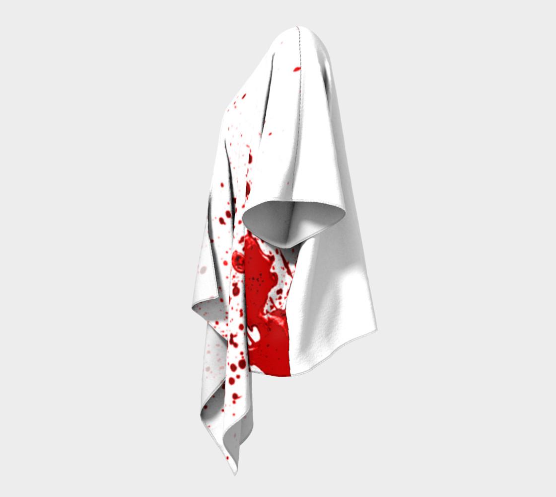 Blood Splatter One Draped Kimono preview #2