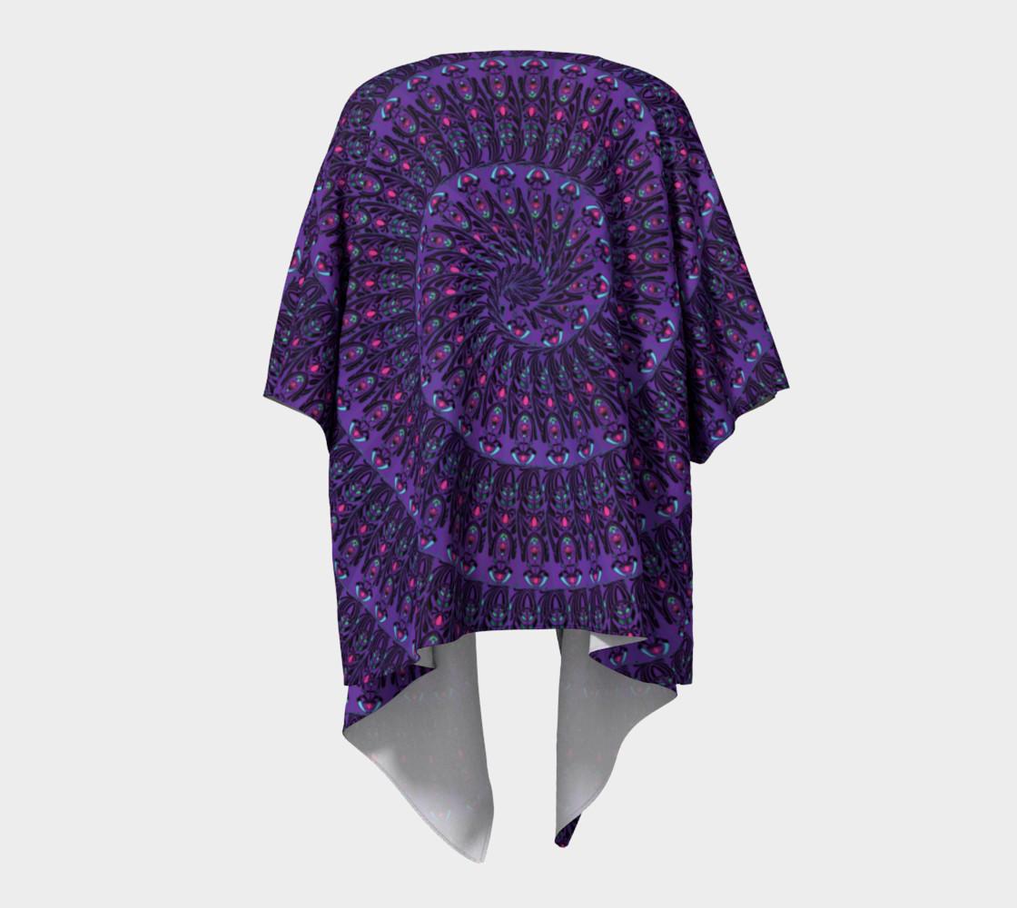 Aperçu de Nouveau Expansion Draped Kimono #4