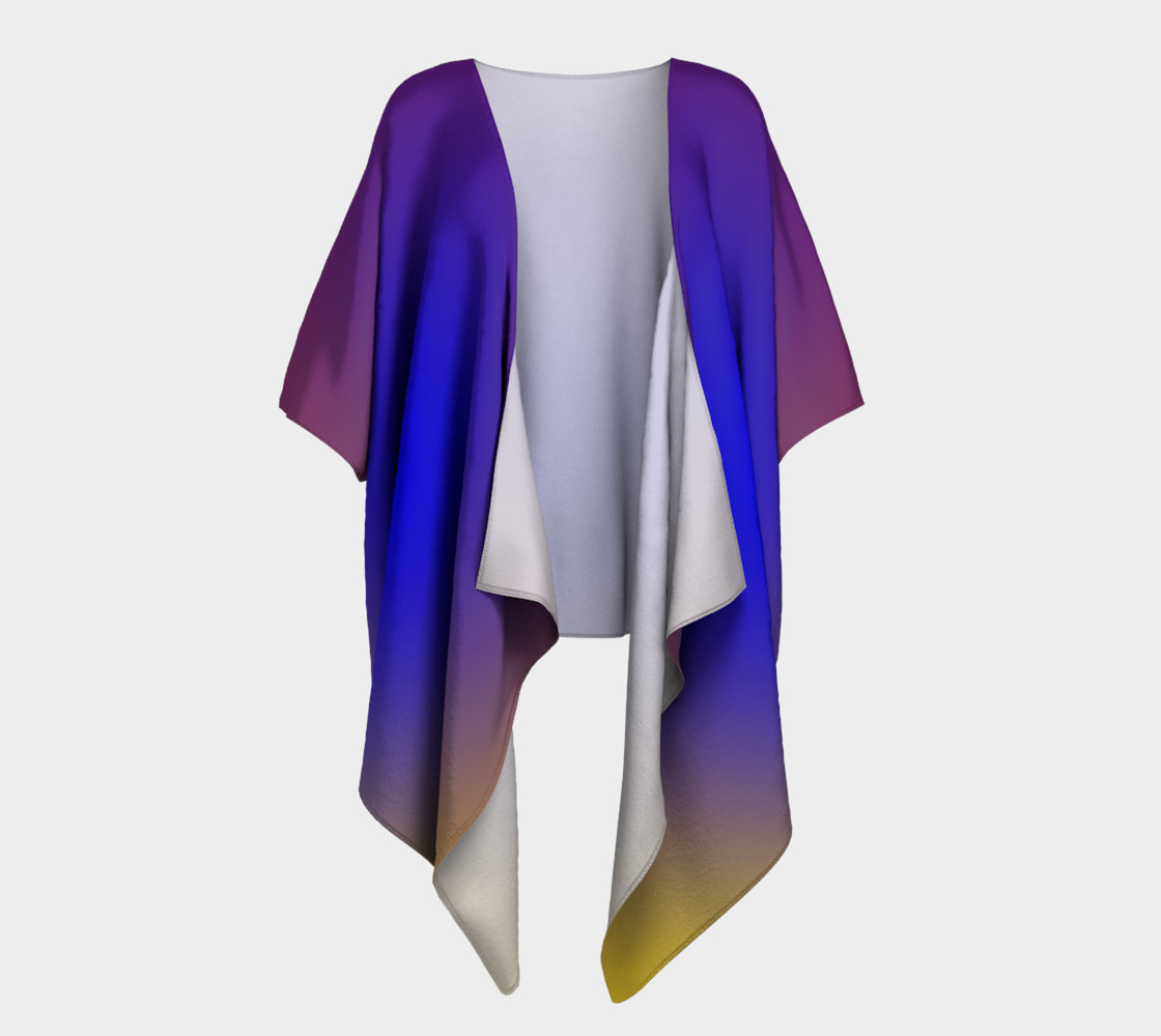 Mind's Eye Draped Kimono preview #1