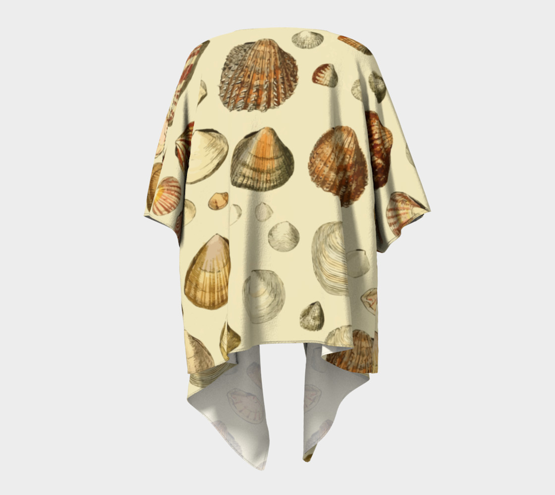 Shells Draped Kimono preview #4