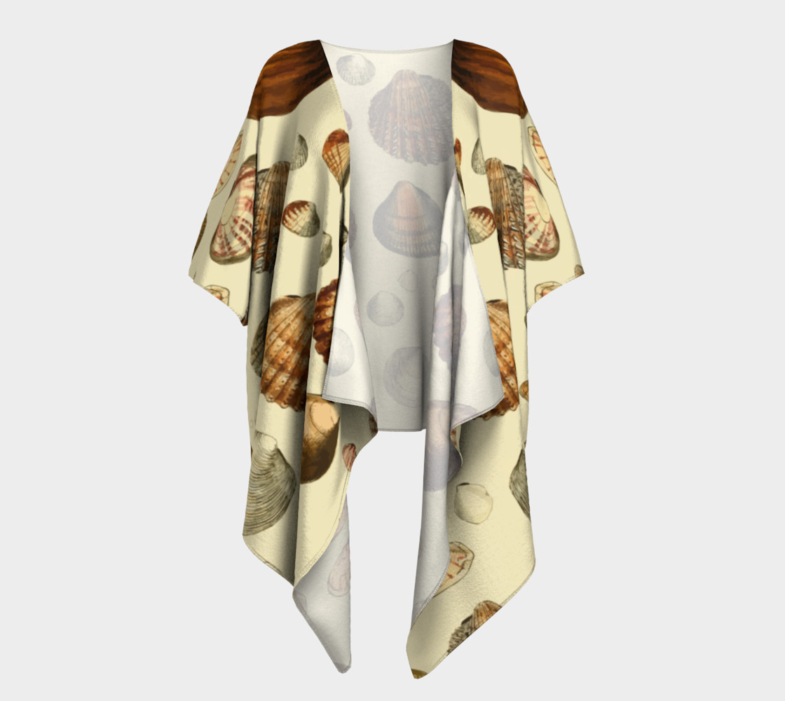 Shells Draped Kimono preview #1
