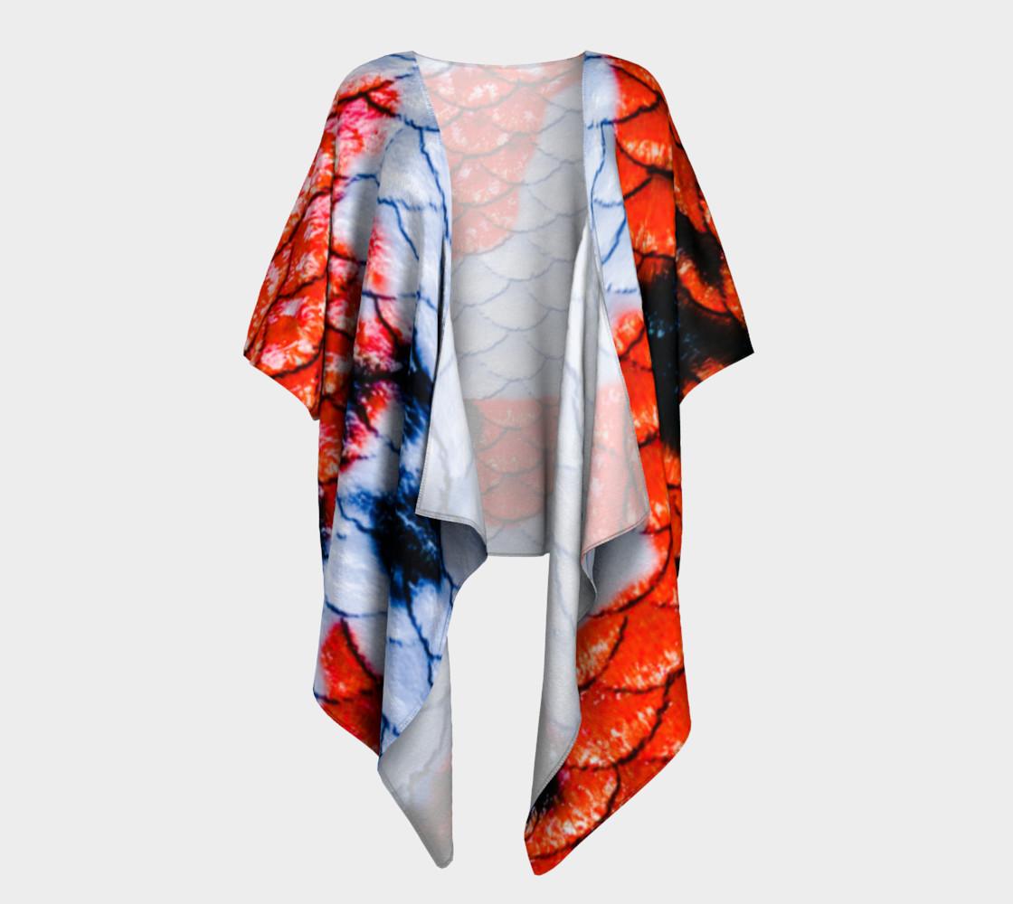 Koi Gal Draped Kimono preview #1