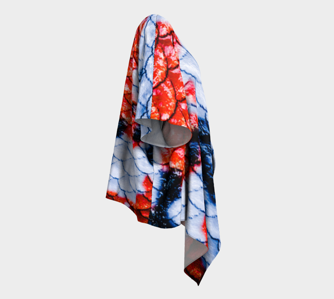 Koi Gal Draped Kimono preview #3