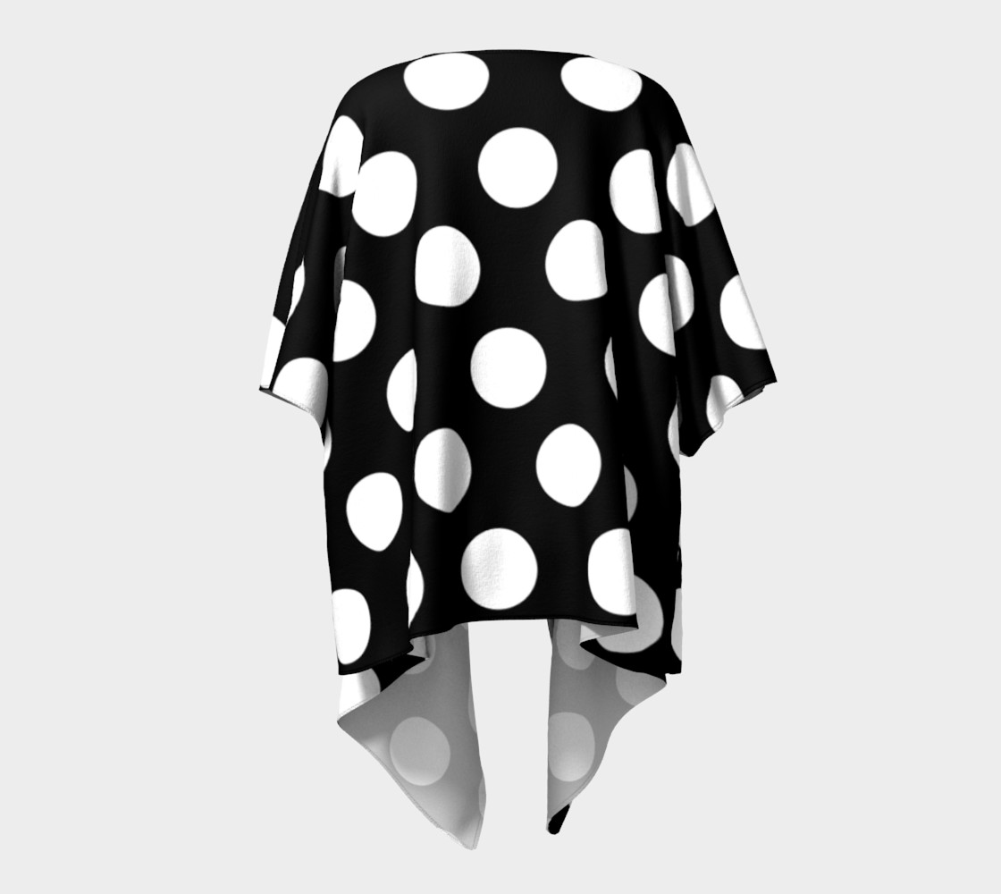 Effervescence Draped Kimono preview #4