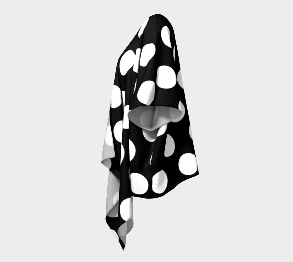 Effervescence Draped Kimono preview #2